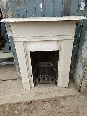 Victorian cast iron fireplace  small bedroom lounge
