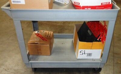 Heavy Duty  2 Shelve Utility Cart - CART ONLY ! - RTAuctions**