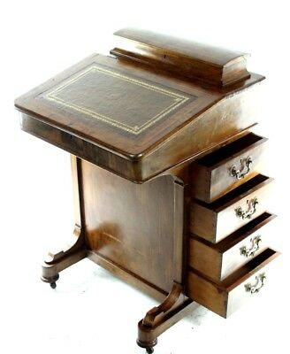 Antique Victorian Walnut Davenport - FREE Shipping [PL4833]