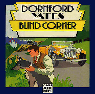 Blind Corner by Dornford Yates Unabridged Box Set 8 CD's Read By Alan Rickman