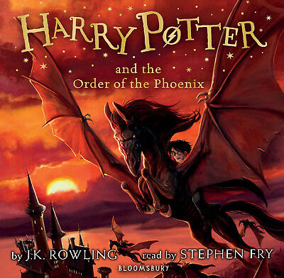 Harry Potter and the Order of the Phoenix Unabridged Stephen Fry (2016) 24 CDs
