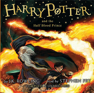 Harry Potter and the Half Blood Prince Unabridged Stephen Fry (2016) 17 CDs