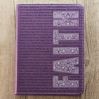 Purple Faith Flexcover Journal  by Christian Art Gifts