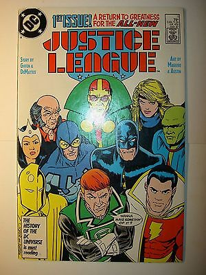 Justice League, Europe, International, lot of 16 DC comics, 1987 and up, BV=$30.