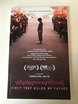 First They Killed My Father : Screenplay For Your Consideration Script