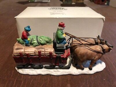 Department 56 ** OX SLED ** Dickens Village Retired