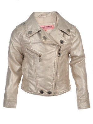 55bdd12785f5 URBAN REPUBLIC BABY Girls  Moto Jacket -  13.99