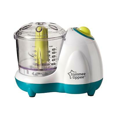 NEW Tommee Tippee Explora Electric Small Baby Food Blender Masher Maker Puree