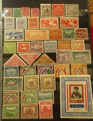 PARAGUAY - Old Airmail Stamps - Mint MH / MNH / Used / some NG  - VF -r22e7924