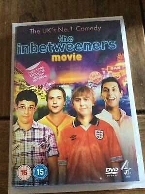 The Inbetweeners Movie (DVD) new and sealed hilarious british lad comedy