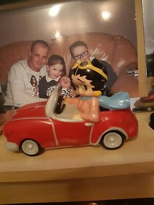 Betty boop figurines used  excellent condition