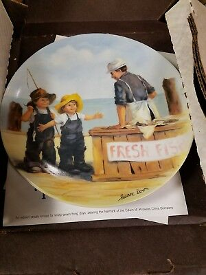 Lot Of 4 Jeanne Down Knowles Collector Plates