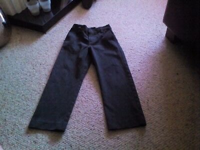 Boys grey school trousers Aged 7 years slim fit from Next