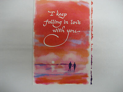 """BM07 Blue Mountain Arts Greeting Card /""""The Perfect Love Letter/"""""""