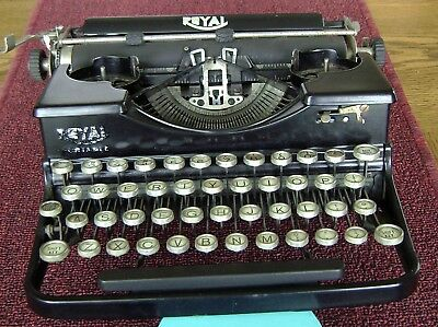 "Rare Antique Early 1900s Royal ""Portable"" Typewriter"