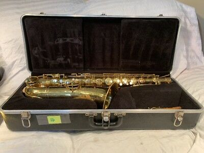 Lyon Healy saxophone For Parts Or Repair W/Case