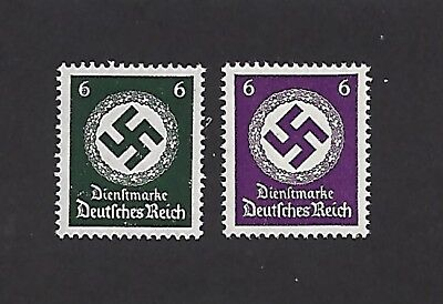 MNH  Nazi Swastika Postage stamp / Both 1934 & 1942 PF06 Issues From Mint sheets