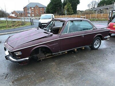 1972 BMW 3.0 CS sold for spares BARN FIND lots of hard to find parts