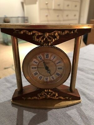French Solo 7 Jewels Alarm Clock