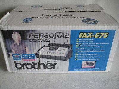 New Brother FAX-575 Personal Fax Phone and Copier