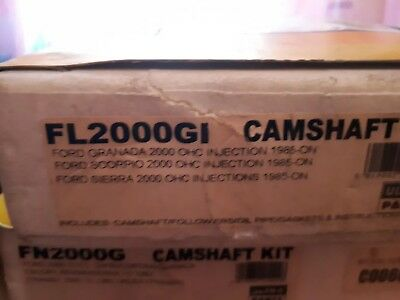 Ford pinto overhead cam shaft kit with gaskets