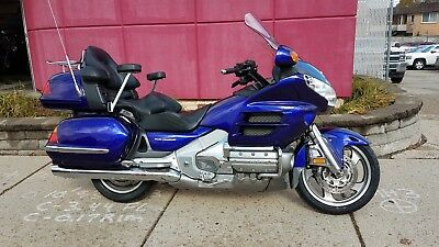 2003 Honda Gold Wing  2003 GL1800 Gold Wing in RARE Illusion Blue - CLEAN BIKE, LOW MILES, NO RESERVE!