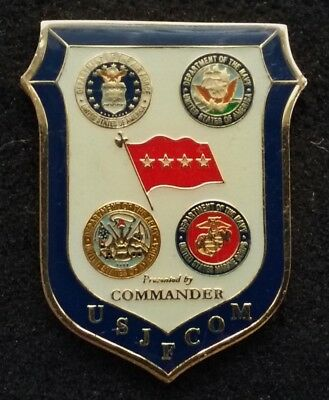 AUTHENTIC 4 Star General USJFCOM JFCOM Joint Forces Command CMDR Challenge Coin