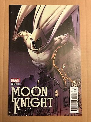 Moon Knight #200 - 1:50 Incentive Variant By Kevin Nowlan - NM