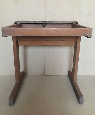 Vintage Retro Old School Desk - up-cycle into - GLASS DISPLAY CASE