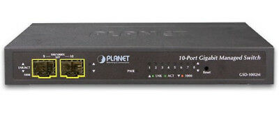 Planet GSD-1002M GSD-1002M network switch Managed L2+ Gigabit Ethernet