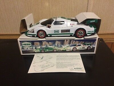 2009 Hess Toy Truck  Race Car And Racer New Condition W/box Issue