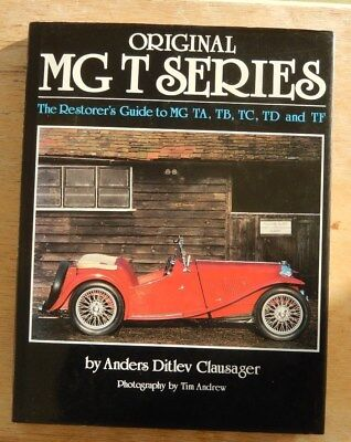 ORIGINAL MG T SERIES AUTOGRAPHED  in DUST JACKET FIRST EDITION