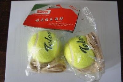 Tennis Trainer/Playing no Partner with Tennis Ball & Elastic Cord by Teloon