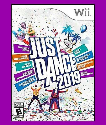 Just Dance 2019 (Nintendo Wii) Brand New Factory Sealed ***New Year Shape Up***