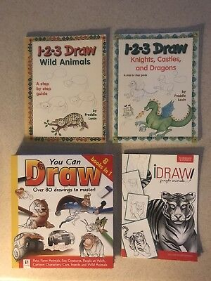 Learn how to draw books