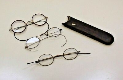 2 Vintage Eyeglasses,1 Gold Fill bridge 10K GF Eyeglasses