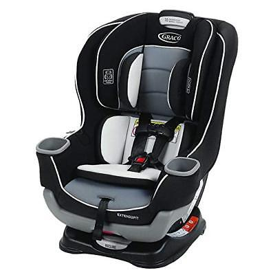 Graco Baby Extend 2 Fit Convertible Car Seat Infant Child Safety Gotham NEW