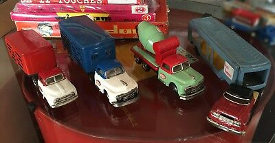 Lotto 4 Truck SSS Cragstan Made in Japan - Camion in latta