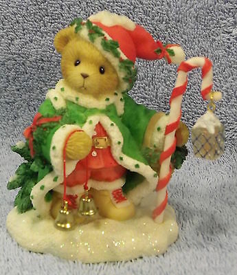 Wolfgang~Santa 2000 Sporit Of Christmas Is In Us All Cherished Teddies MIB CCOA