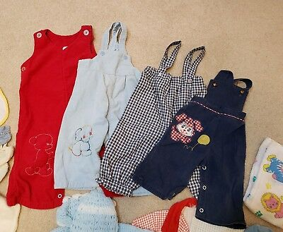 Lot of 42 Vtg Pieces of Baby, Children's, Boy's & Girl's Winter Clothing