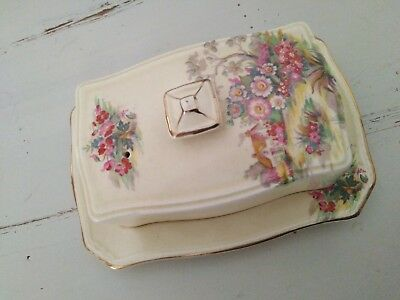 ROYAL WINTON Butter Dish Collectible