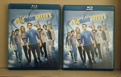 The Big Bang Theory - Series 1-3 And 4-6 Complete Blu-ray, 2013, 12-Disc Set