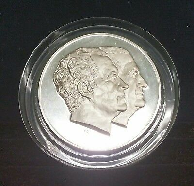 The Official 1973 Richard Nixon & Spiro Agnew Inaugural Silver Proof Medal