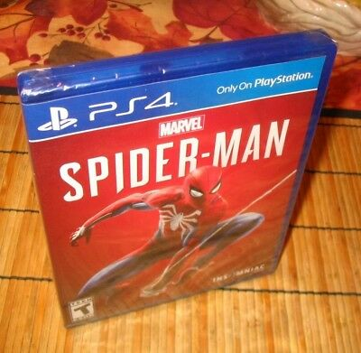 Spider-Man Sony PlayStation 4 GAME BRAND NEW FACTORY SEALED