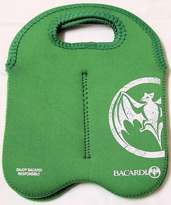 Collectible Bacardi Neoprene Carry Bag/cooler Green - Excellent
