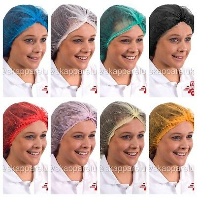 Disposable Mob clip caps Hair nets disposable Catering Factory Food Tan Salon