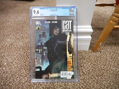 Catwoman 48 cgc 9.6 DC 2005 Adam Hughes cover Batman NM MINT WHITE pgs HOT TV