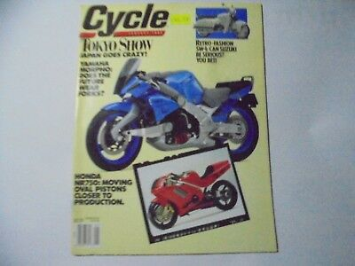 Vintage Cycle Magazine January, June, August, October 1990 & March 1991