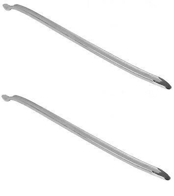 """2 Forged Steel Curved 24"""" Tire Iron Pry Bar Auto Car Motorcycle Bike Changer"""