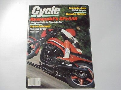 Vintage Cycle Magazine  February, March, November 1982 & July 1983